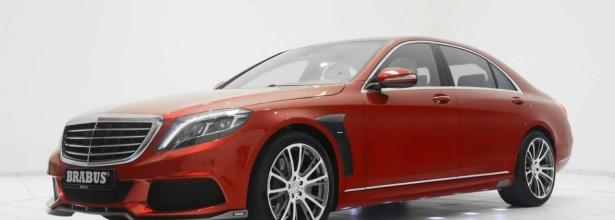 Brabusdan Milad bayramı üçün yeni qırmızı rəngli Mercedes-Benz S-Class