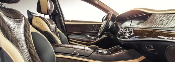 Mercedes-Benz S-Class — Timsah dərili salon