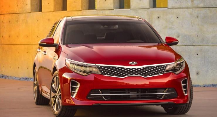 2016 Kia Optima modelinin ilk rəsmi şəkli