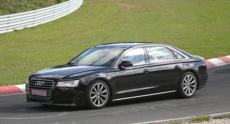 Audi A8 modelinin növbəti versiyasının istehsalı 1 il təxirə salındı