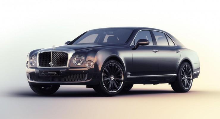 """Bentley Mulsanne Speed xüsusi """"Blue Train"""" versiyası"""