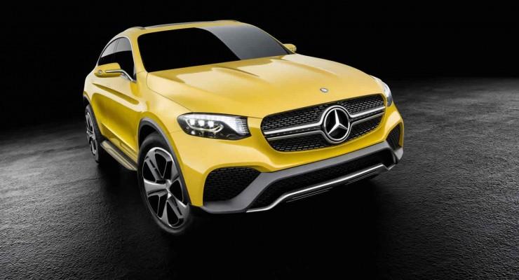 Yeni Mercedes-Benz GLC Coupe modeli