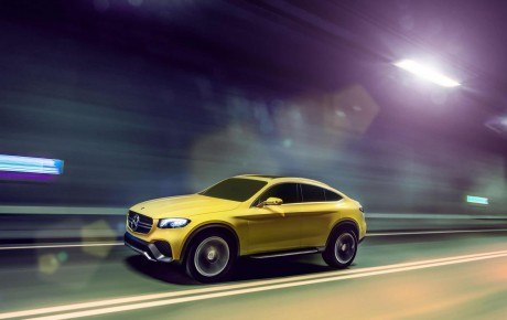 Yeni Mercedes-Benz GLC Coupe modeli