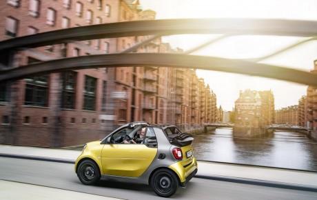 Yeni Smart Fortwo kabriolet modeli
