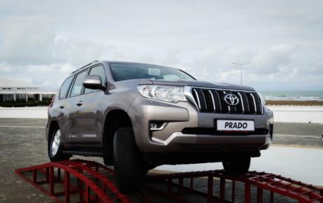 Yeni Toyota PRADO modelinin təqdimatı